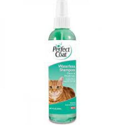8 in 1 шампунь для кошек PC Waterless Shampoo без смывания с ароматом свежести, спрей, 236 мл (арт. DAI1825883)