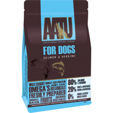 AATU беззерновой корм для взрослых собак с лососем и сельдью, 80/20 SALMON & HERRING
