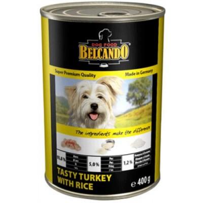 "Belcando Tasty turkey w rice - Вкус ""индейка с рисом"" (6 шт. х 400 гр.)"