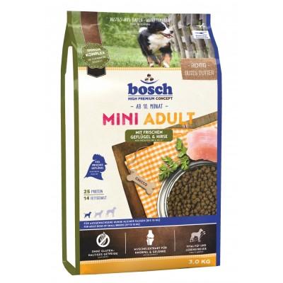 Bosch MINI ADULT птица и просо корм для взрослых собак маленьких пород