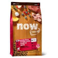 NOW Grain Free Red Meat Adult Recipe - беззерновой корм для собак со свежим мясом ягненка