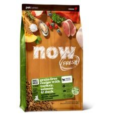 NOW Fresh Small Breed Senior Recipe Grain Free 27/17 - беззерновой корм для пожилых собак малых пород с индейкой, уткой и овощами