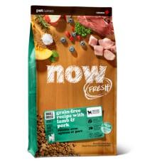 NOW FRESH Grain Free Small Breed Red Meat DF 26/16 Беззерновой корм для взрослых собак малых пород с ягненком и овощами