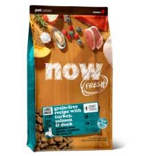 """NOW 25/11 Fresh Senior Large Breed Recipe Grain Free - беззерновой корм """"Контроль веса"""" для пожилых собак крупных пород с индейкой, уткой и овощами"""