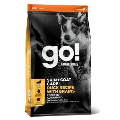 GO Skin + Coat Duck Dog Recipe 22/12 - корм для щенков и собак с цельной уткой и овсянкой НОВИНКА!!!