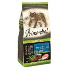 PRIMORDIAL ADULT GRAIN-FREE Лосось и тунец - беззерновой корм для взрослых кошек (Лосось и тунец)