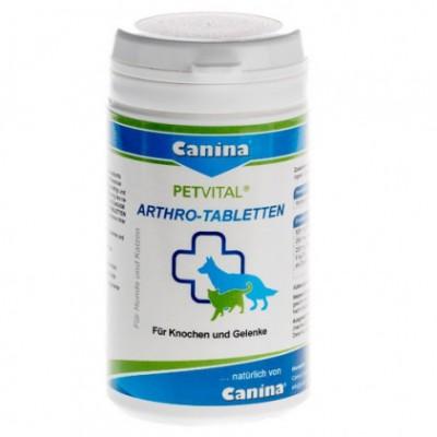 Canina Petvital Arthro-tabletten - добавка для костной ткани и ликвидации восп. процессов в суставах 60/180/1000гр.