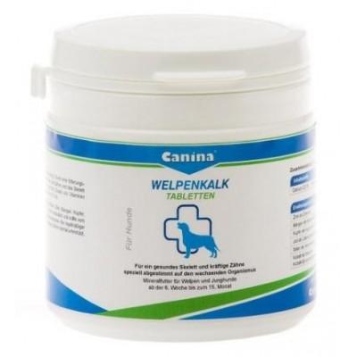 Canina Welpenkalk - минеральная добавка для щенков обеспечивающая развитие скелета и зубной системы 150/350гр.