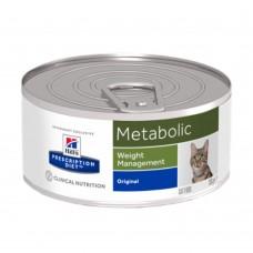 Hill's Prescription Diet Metabolic - влажный диетический корм для кошек, способствует снижению и контролю веса