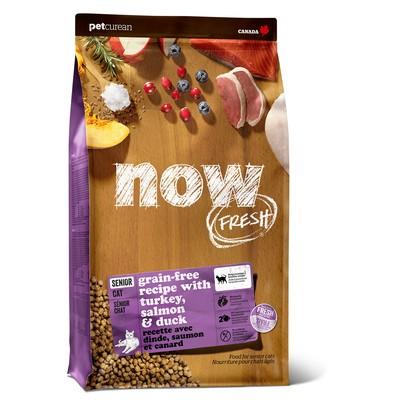 """NOW FRESH """"Контроль веса"""" - 30/14 Беззерновой для Кошек с Индейкой Уткой и овощами"""