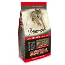 Primordial grain free adult mini fresh lamb & boar корм для собак мелких пород беззерновой с ягненком и кабаном