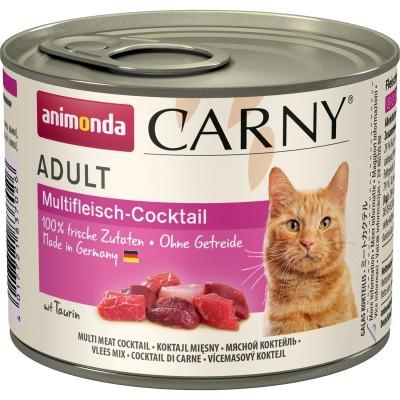 Carny Adulte - консервы для кошек, мясной коктейль (200 г) (арт. ВЕТ83702)