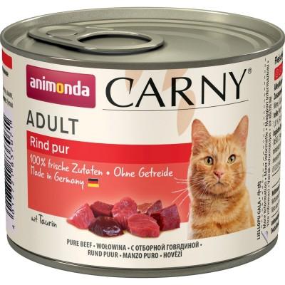 Carny Adulte - консервы для кошек, говядина (200 г)