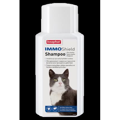 Beaphar Шампунь IMMO Shield Shampoo от паразитов для кошек, 200 мл (арт. DAI14178)