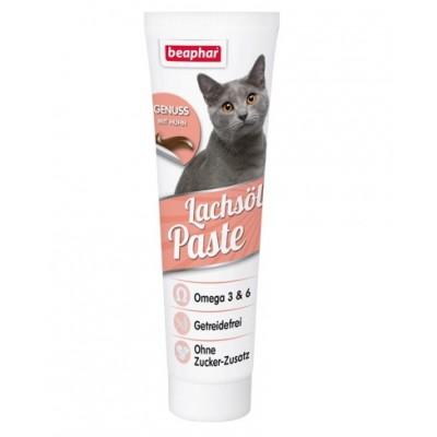 Beaphar Lachsol Paste Katze Паста с лососевым маслом для кожи и шерсти кошек, 100 г. (арт. DAI15228)
