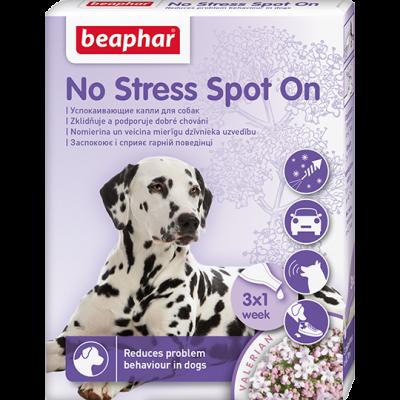 Beaphar Успокаивающие капли No Stress Spot On для собак на основе экстракта валерианы (арт. DAI13912)