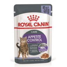 Royal Canin Appetite Control Care - паучи для стерилизованных кошек, склонных к набору веса, желе