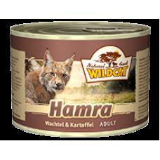 """Wildcat Hamra-консервы для кошек с перепелом и сладким картофелем """"Хамра"""" 200 гр."""