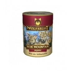 "Wolfsblut Blue Mauntain Puppy - консервы для щенков c мясом оленя ""Голубая гора"" 395 гр."
