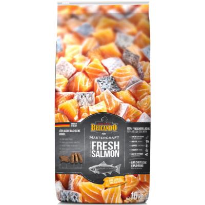 Belcando Mastercraft Fresh Salmon- сбалансированный беззерновой корм для взрослых собак c лососем.