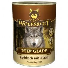 """Wolfsblut Deep Glade Adult - консервы для взрослых собак с оленем """"Лесная поляна"""" 395 гр."""