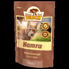 """Wildcat Hamra-пресервы для кошек с перепелом и сладким картофелем """"Хамра """" 100 гр."""
