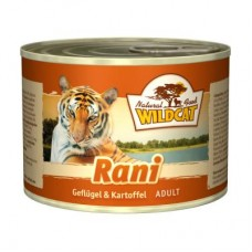 """Wildcat Rani-консервы для кошек с мясом птиц и картофелем """"Рани"""" 200 гр."""