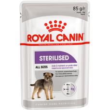 Royal Canin Adult Sterilised Canine Pouche - паштет для взрослых стерилизованных, кастрированных собак (85 гр.)