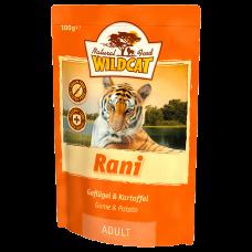 """Wildcat Rani-пресервы для кошек с мясом птиц и картофелем """"Рани"""" 100 гр."""