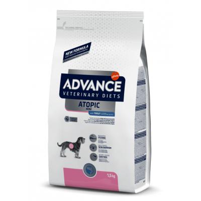 Advance VetDiet Atopic Mini - сухой корм лечебный для взрослых собак малых пород при дерматозах и аллергии