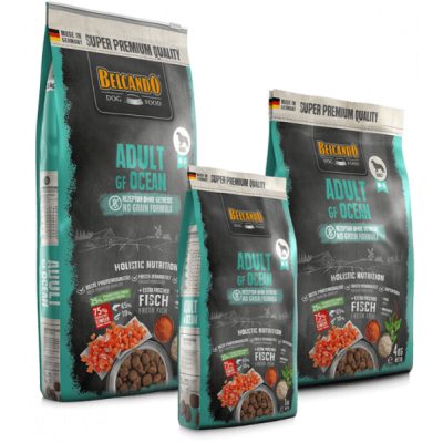 Belcando Adult Grain-Free Ocean – беззерновой сухой корм для собак на основе океанической рыбы