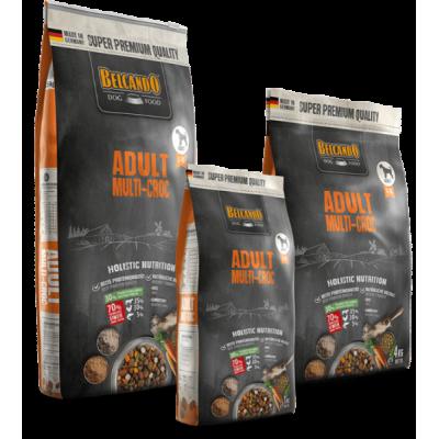 Belcando Adult Multi-Croc - корм для собак средних и крупных пород, привередливых в еде (крокеты – соусная подливка)