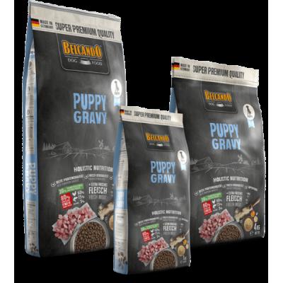 Belcando Puppy Gravy - корм для щенков мелких пород до 1 года, для щенков крупных пород до 4-х месяцев.