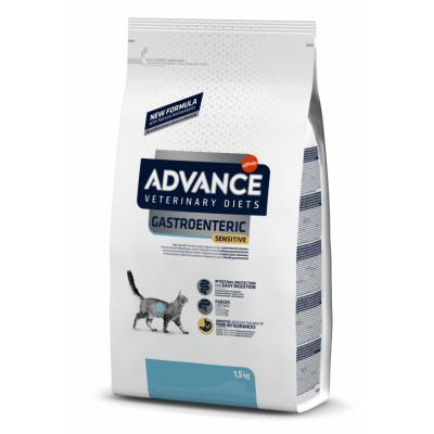 Advance Gastroenteric Sensitive - сухой лечебный корм для кошек с желудочно-кишечными расстройствами