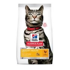 Hill's Science Plan Urinary Health - cухой корм для взрослых кошек, склонных к мочекаменной болезни, с курицей