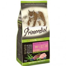 PRIMORDIAL KITTEN GRAIN-FREE Duck and Turkey - беззерновой корм для котят с уткой и индейкой