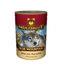 """Wolfsblut Blue Mountain Adult - консервы для взрослых собак всех пород с мясом оленины """"Голубая гора"""" 395 гр."""