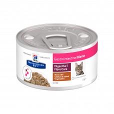 Hill's Prescription Diet Gastrointestinal Biome - влажный диетический корм в форме рагу для кошек при расстройствах пищеварения и для заботы о микробиоме кишечника, c курицей