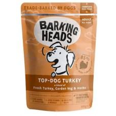 """Barking Heads - паучи для собак с индейкой """"Бесподобная индейка"""" Top Dog Turkey (300 г)"""
