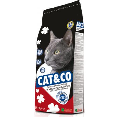 Adragna Cat&Co ADULT MIX Beef&Chicken 30/12 - корм для взрослых котов микс говядина с цыпленком