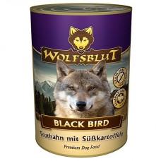 """Wolfsblut Black Bird Adult - консервы для взрослых собак с индейкой """"Черная птица"""" 395 гр."""