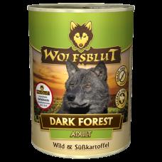 """Wolfsblut Dark Forest Adult - консервы для собаки с олениной """"Темный лес"""" 395 гр."""