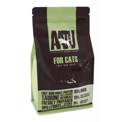 AATU беззерновой корм для взрослых кошек с уткой, 85/15 CAT DUCK