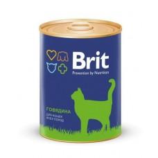 "BRIT BEEF - консервы для кошек ""Говядина"" - 340 г (арт. 9457)"