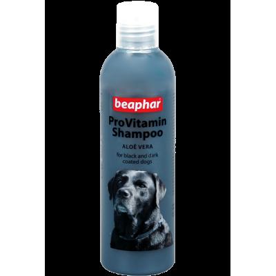 Beaphar Pro Vitamin Shampoo Black - Провитаминный шампунь с алоэ вера для собак темного и черного окраса, 250 мл (арт. DAI18255)