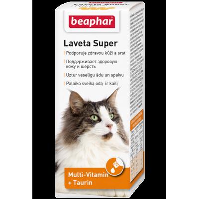 Beaphar Laveta Super Katze - Препарат для шерсти кошек, 50 мл (арт. DAI12524)