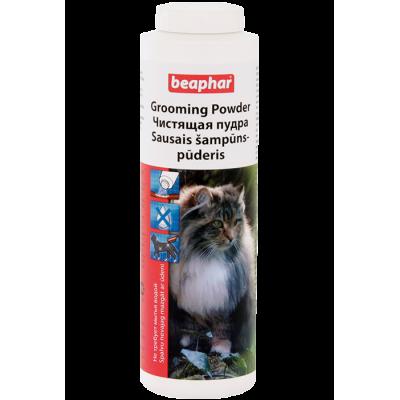 Beaphar BeaGrooming Tr/-Pflege Kat - сухой шампунь (чистящая пудра) для кошек, 100 г (арт. DAI10474)