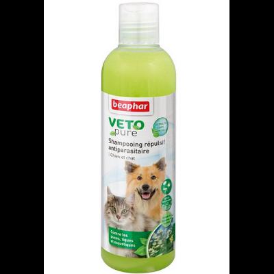 Beaphar Shampoo against fleas, ticks and moskitos for dogs and cats - Шампунь Био от блох и клещей для кошек и собак, 250мл (арт. DAI15711)
