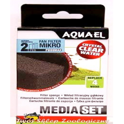 AQUAEL Наполнитель для фильтра Filtr.sponge FAN PHOS (2pcs) (арт. TYZ113871, TYZ113879)
