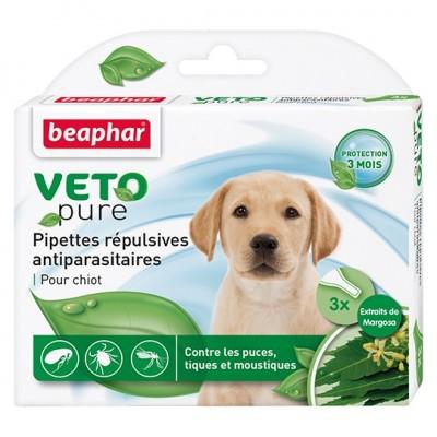 Beaphar VETO pure Био капли от паразитов для щенков (арт. DAI15611)
